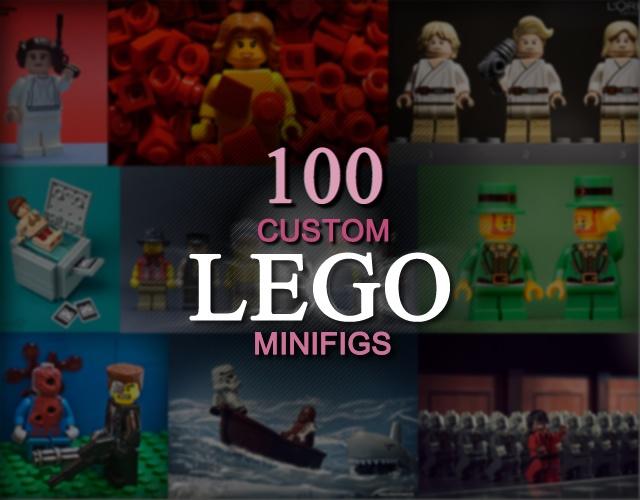 100 personaggi LEGO customizzati