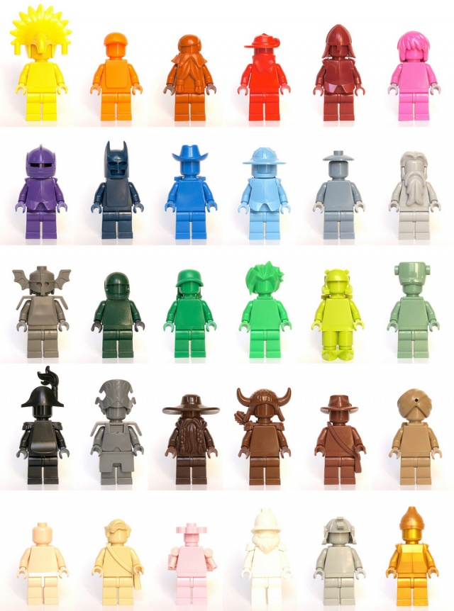100 custom LEGO minifigs - Photo 29