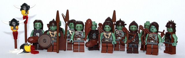100 custom LEGO minifigs - Photo 30