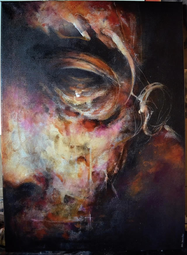 Painting By Eric Lacombe En Themag