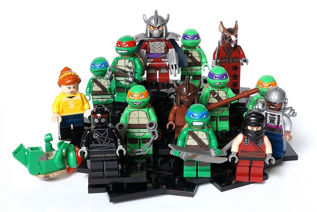 100 custom LEGO minifigs - Photo 53