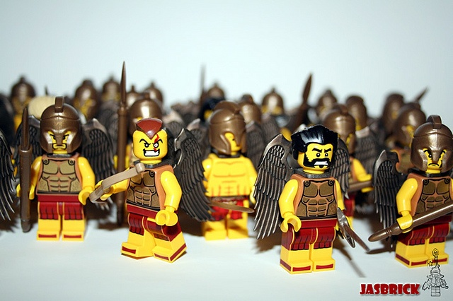 100 custom LEGO minifigs - Photo 55