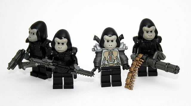 100 custom LEGO minifigs - Photo 63