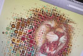 Ritratti mosaico di leoni - thumbnail_6