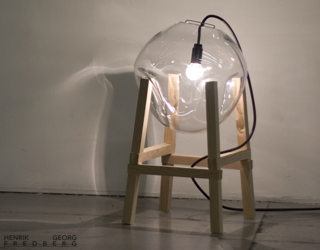 Collide lamp series | Image courtesy of Henrik Georg Fredberg
