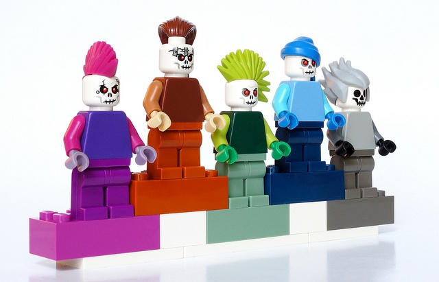 100 custom LEGO minifigs - Photo 83