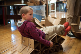 Sprocket Cardboard Chair - thumbnail_6