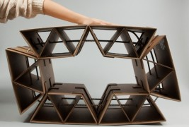 Sprocket Cardboard Chair - thumbnail_1