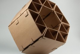 Sprocket Cardboard Chair - thumbnail_2