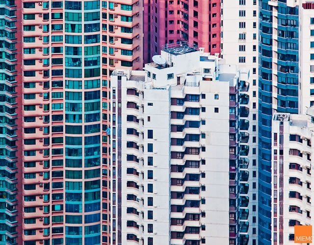 Hong Kong facades by Miemo Penttinen