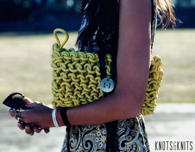 Knots and Knits bags