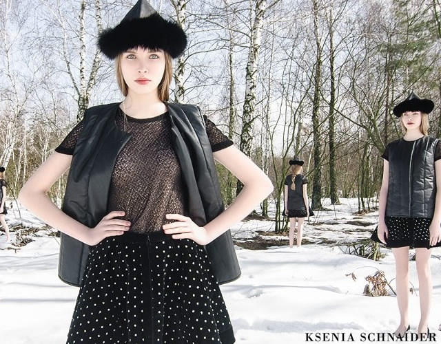 Ksenia Schnaider fall/winter 2013
