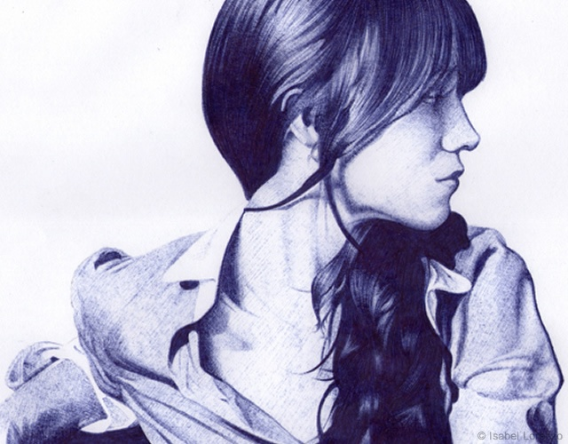 Drawings by Isabel Lorenzo