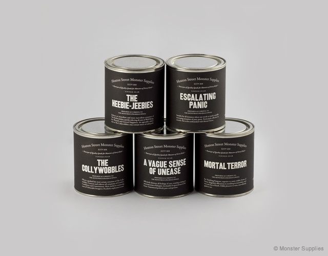 Tinned fear | Image courtesy of Monster Supplies