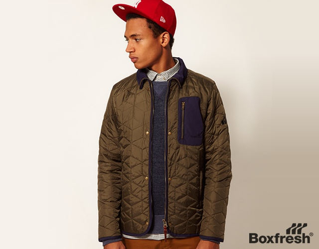 Boxfresh quilted jacket | Image courtesy of Boxfresh