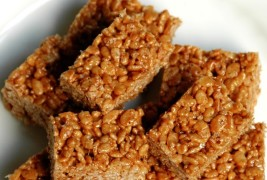Mars and puffed rice squares