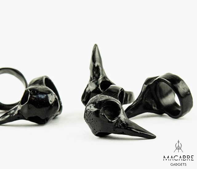 Macabre Gadgets jewels | Image courtesy of Macabre Gadgets