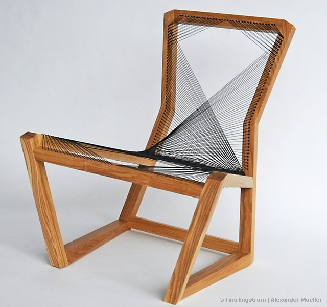 Woven Easy chair | Image courtesy of Tina Engström, Alexander Mueller