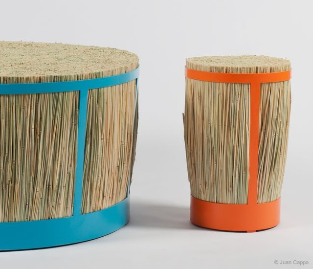 Halmpall stools | Image courtesy of Juan Cappa, Goats on Furniture