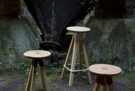 Collar stool collection - thumbnail_2