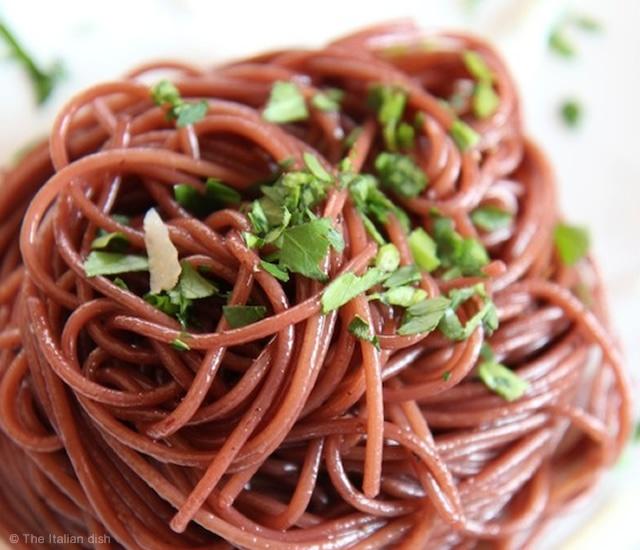 Drunken pasta | Image courtesy of The Italian dish
