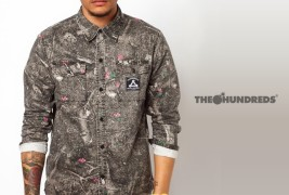 The Hundreds Camo Shirt - thumbnail_1