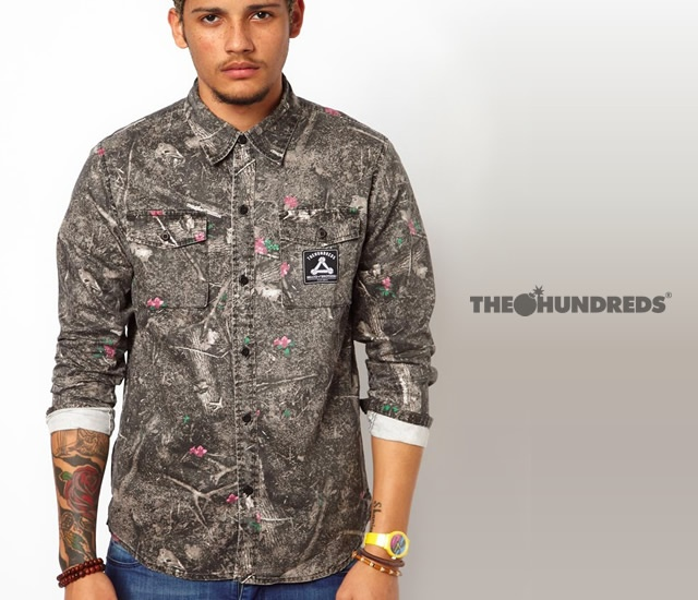 The Hundreds Camo Shirt