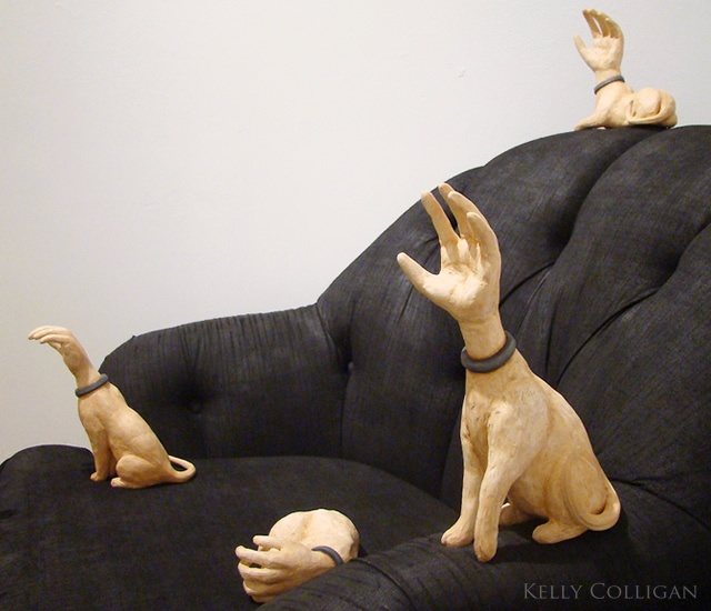 The Human Animal sculpture
