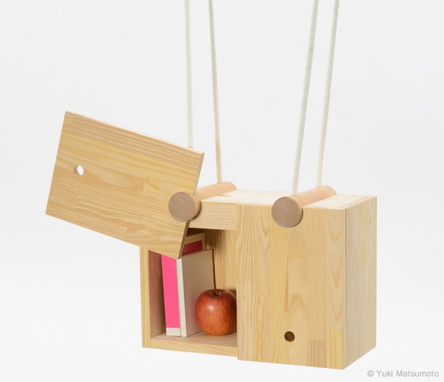 Seven – Tenths hanging furniture | Image courtesy of Yuki Matsumoto, Design Soil