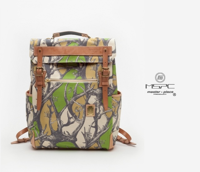 Master-Piece x Nowartt backpack | Image courtesy of Master-Piece x Nowartt