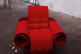 Re Bon Bon armchair - thumbnail_3