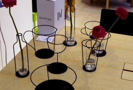 Thin Black vase by Nendo - thumbnail_5