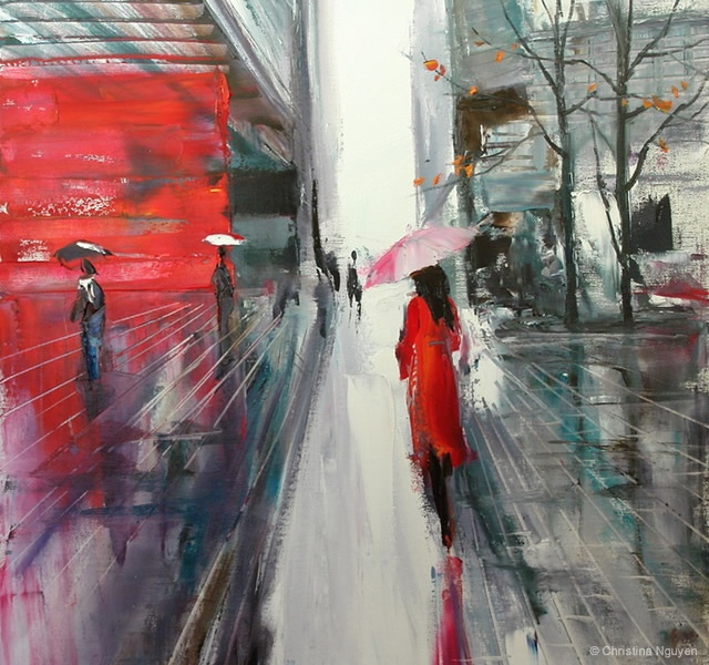 Painting by Christina Nguyen | Image courtesy of Christina Nguyen
