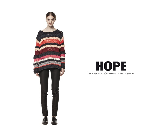 Hope pre-autunno 2013 | Image courtesy of Hope