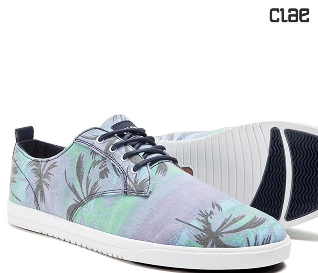 Sneakers Ellington Canvas by Clae