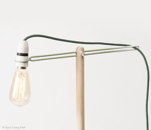 Crane lamp | Image courtesy of Hyun Young Park