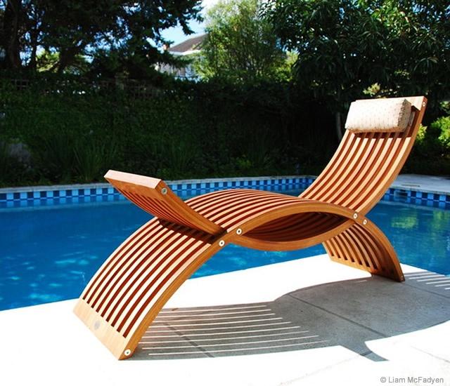arc chaise longue en themag. Black Bedroom Furniture Sets. Home Design Ideas