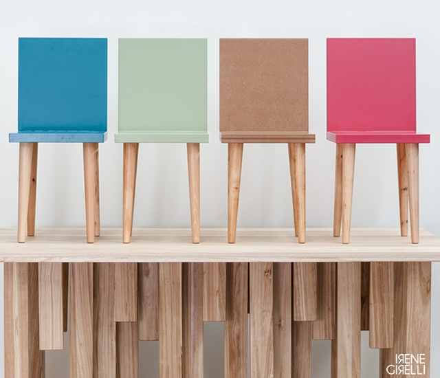 Metrie chair | Image courtesy of Irene Girelli, Paolo Martelli