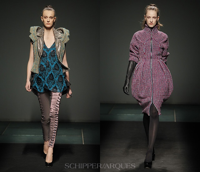 Schipper/Arques autunno/inverno 2013 | Image courtesy of Schipper/Arques