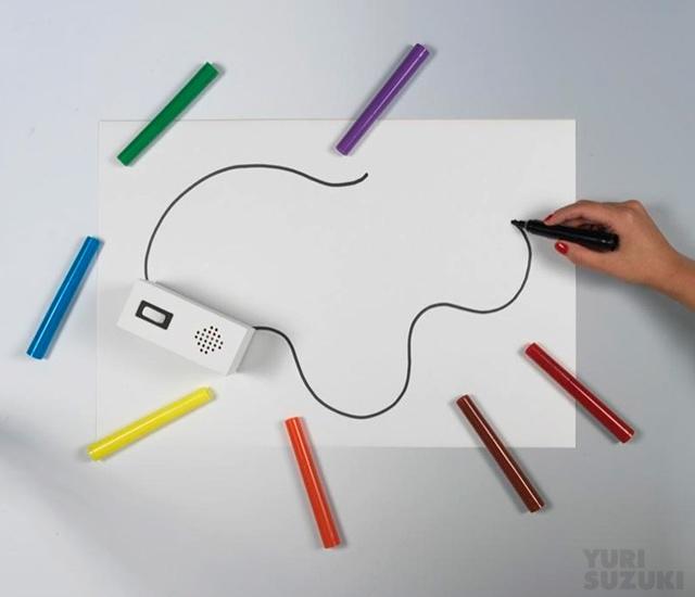 Colour Chaser di Yuri Suzuki
