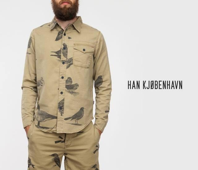 Bird shirt by Han Kjobenhavn