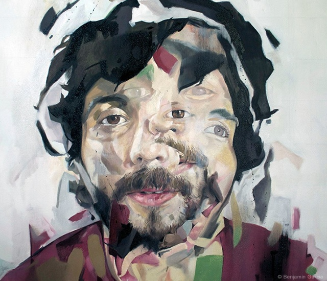 Painting by Benjamin Garcia | Image courtesy of Benjamin Garcia