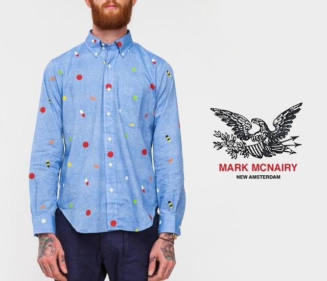 Mark McNairy Pill BD shirt