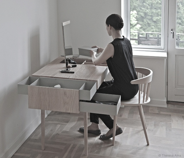Private desk | Image courtesy of Theresa Arns