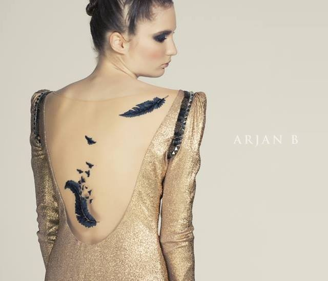 Arjan B autunno/inverno 2013 | Image courtesy of Arjan B