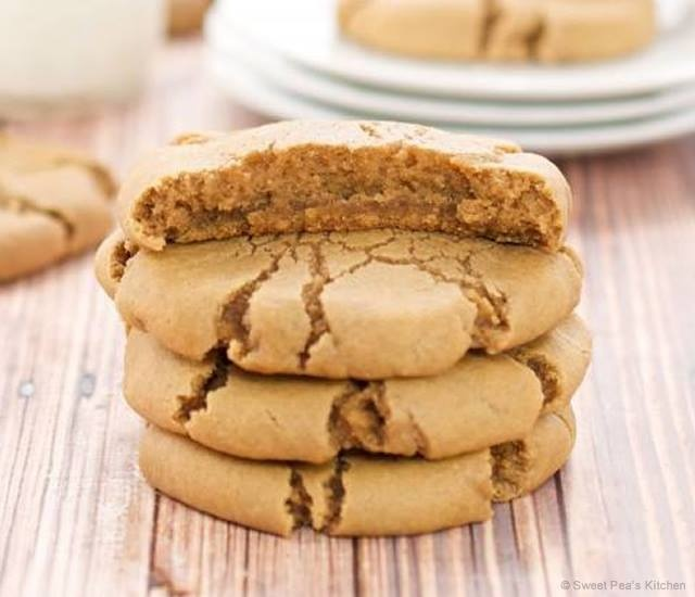 Biscotti allo zuccero di canna | Image courtesy of Sweet Pea's Kitchen