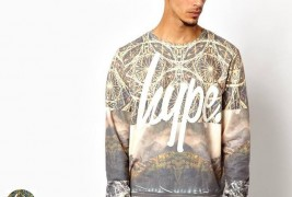 Hype Mountain Range Sweatshirt - thumbnail_1