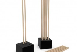 STEM wooden coat stand - thumbnail_2