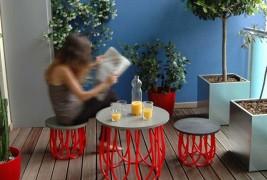 Marta table and stool - thumbnail_1