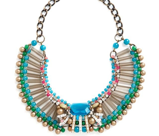 Kaleidoscope necklace | Image courtesy of Modcloth